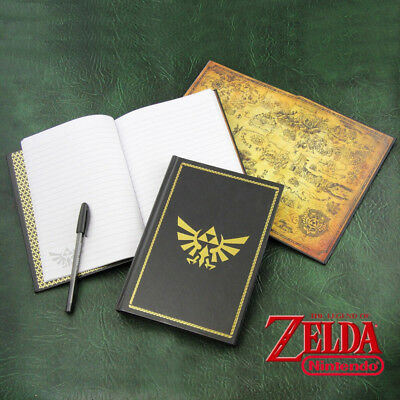 Carnet de Notes Hyrule Zelda - Neuf
