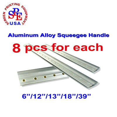 """8pcs For EachAluminum Alloy Silk Screen Printing Squeegee Handle 6""""/12""""/13""""/18"""""""