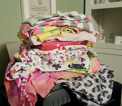 14 Piece Lot of Size 5T Girls Clothes Tops Dresses Pajamas Free Shipping