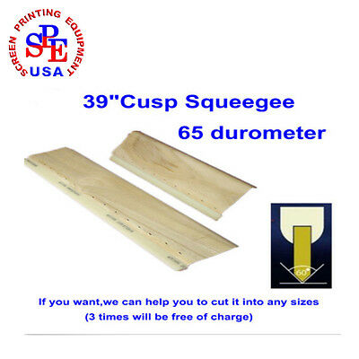 "39""(100cm)  65 Durometer Cusp Squeegee Can Be Cutted To Any Sizes If You Want"