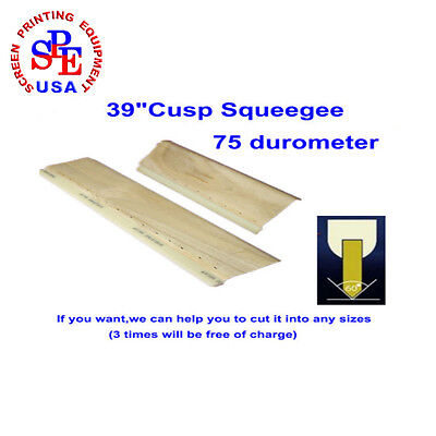"39""(100cm)  75 Durometer Cusp Squeegee Can Be Cutted To Any Sizes If You Want"