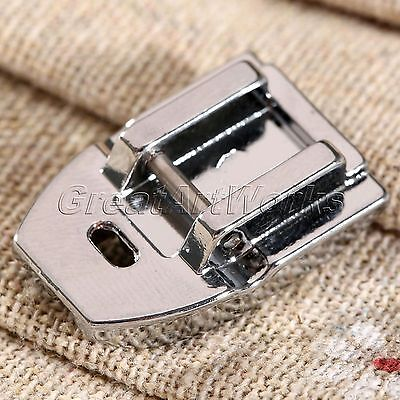 New Invisible Zipper Foot Concealed Snap On Presser For Domestic Sewing Machine