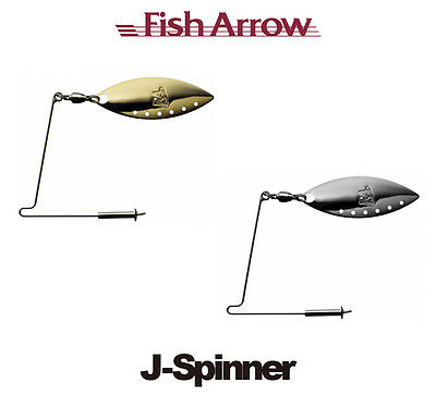 Fish Arrow J Spinner Spinnerbait Accessory - Select Color