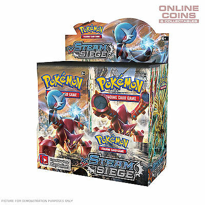 POKEMON TCG - Steam Siege 4 x10 Card Booster Packs 40 CARDS IN TOTAL