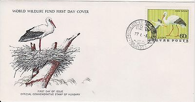 (WWF-36) 1977 Hungary no.36 the spoon bill cover