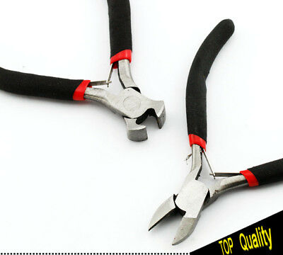 5x Chain Round Bent Nose Beading Jeweler Making Craft Tool Plier Cuter Set