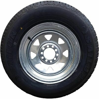 "13x4.5"" Ford HT Holden Wheel Rim and 155R13c LT Tyre GALV Trailer Caravan Boat"