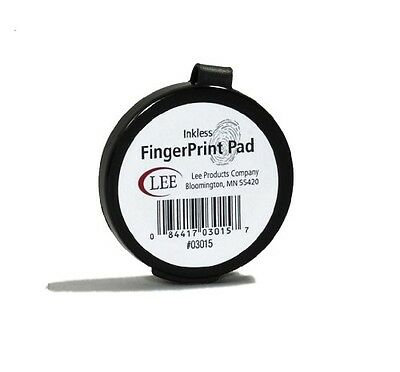 Lee Products Co. Lee Inkless Fingerprint Pad, Round (03015)