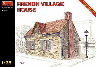 35510 Mini Art, 1:35 scale French Village House - 158 parts, Brand NEW