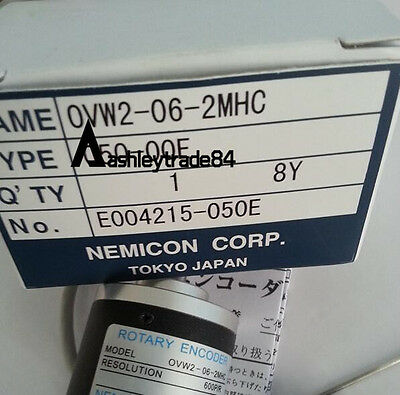 1PCS NEMICON OVW2-06-2MHC encoder New In Box