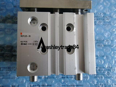 NEW SMC MGPL20-30 Compact Guide Cylinder 20mm Bore 30mm Stroke