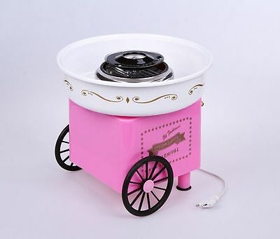 Hot Sale Candy Cotton Maker Household Cotton Candy Machine,Floss Maker Pink Colo