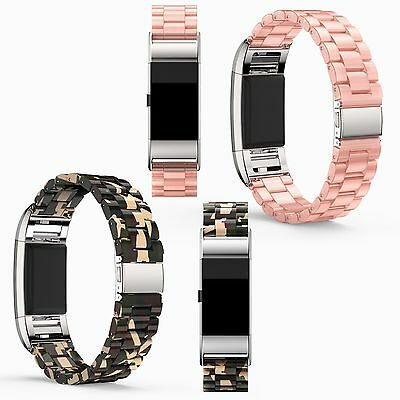 Cellulose Acetate Watch Band Bracelet Wrist Strap for FITBIT Charge 2 HR Tracker