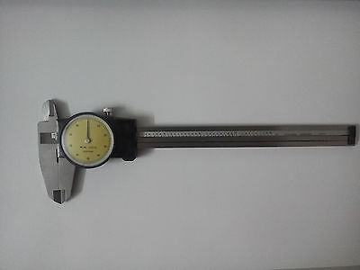 "1pc 0.001"" Dial Caliper with 6 Inches Measuring Range Stainless Steel New"