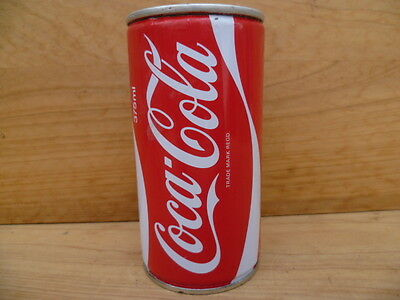 Vintage Old Coca-Cola Metal  Coke Can Advertising Money Box, (B701)