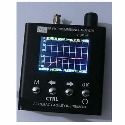 NEW 140MHz~2.7GHz UV RF Vector Impedance ANT SWR Antenna Analyzer Meter Tester