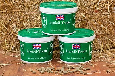 Horse Treats - Large -  5kgTub - Equioil Treats