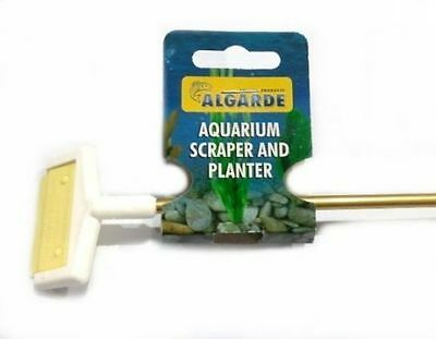 Algarde Aquarium Fish Tank Scraper Cleaner Posted today if paid before 1PM