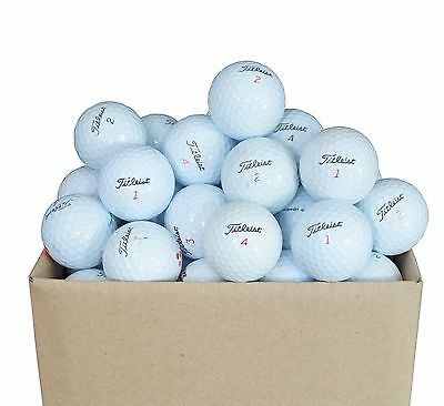 50 Balles de Golf Titleist Mix 'A'
