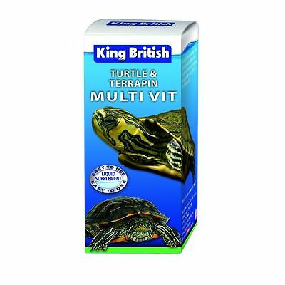 King British Turtle & Terrapin Multi Vitamin Solution Supplement 20ml