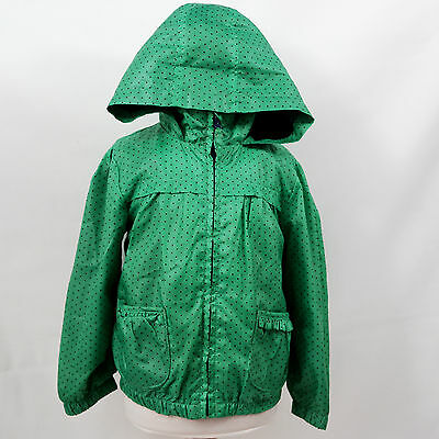 Marks & Spencer Girls Lightweight Raincoat Hooded Jacket/Coat M&S Age 3-4 Years