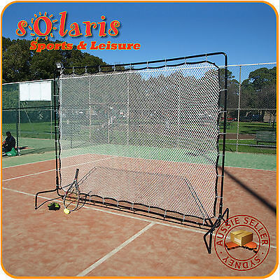 Large Tennis Rebound Net Heavy Duty Coaching Training Aid Practice Playback Net