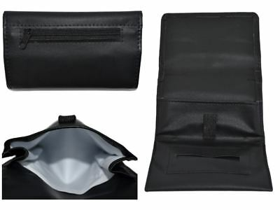 Shine Tobacco Pouch Soft PU Fully Lined Black Colour Great Quality