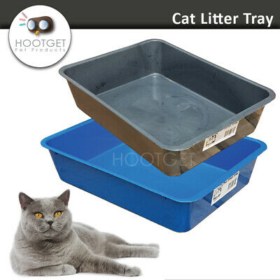 Cat Litter Tray - Pet Kitten Cat Toilet Portable Hooded House Pan Sandbox