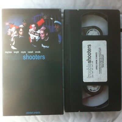 Trouble Shooters Skateboard Video 1998 VHS Celentani Projects Santos Reeves