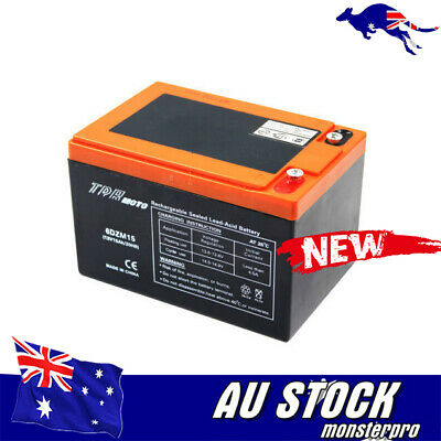 6DZM15 > 6DZM12 12V 15AH Battery 4 Electric/Mobility Scooters E- bikes Mowers