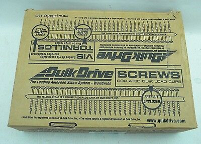 Quick Drive 1 3/4″ Screws *Collated Quik Load Clips* (BDOF)