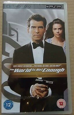 The World Is Not Enough  (New and Sealed) Sony PSP UMD Video Movie