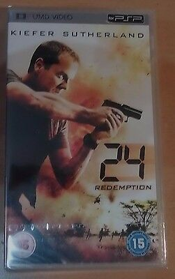 24 - Redemption (New and Sealed) Sony PSP UMD Video Movie