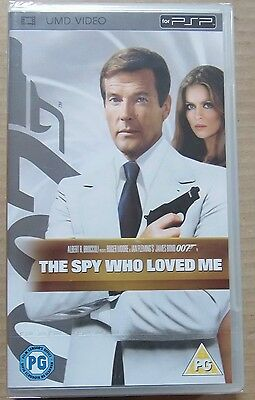 The Spy Who Loved Me   (New and Sealed) Sony PSP UMD Video Movie