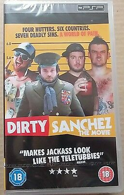 Dirty Sanchez The Movie  (New and Sealed) Sony PSP UMD Video Movie