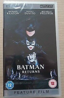 Batman Returns  (New and Sealed) Sony PSP UMD Video Movie