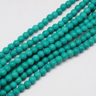 4mm Turquoise Beads, Dark Cyan Approx 110pcs