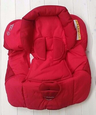 **NEW** 1 X Maxi-Cosi CabrioFix Car Seat Replacement Cover in Robin Red