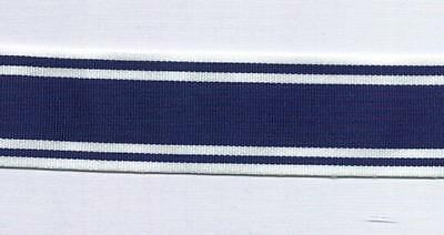 """12"""" of Full Size Medal Ribbon for the POLICE EXEMPLARY Medal"""