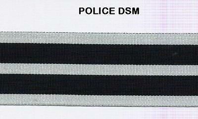 """12"""" of Full Size Medal Ribbon for the POLICE DISTINGUISHED SERVICE Medal"""