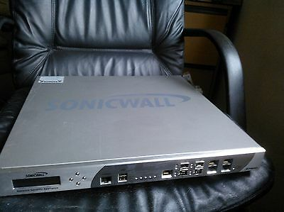 Sonicwall NSA  E7500 Type 1RK11-04E Network security Appliance Tested/working!