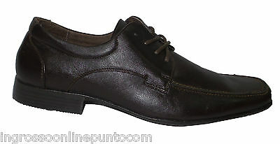 men's elegant shoes casual brown eco-leather classic vn 246