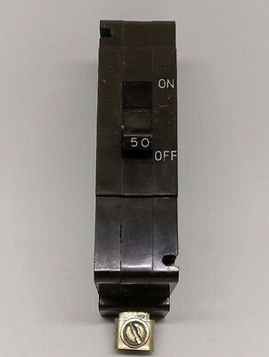 Crabtree C-50 Type C 50A Amp MCB Single Pole Circuit Breaker BS 3871/1
