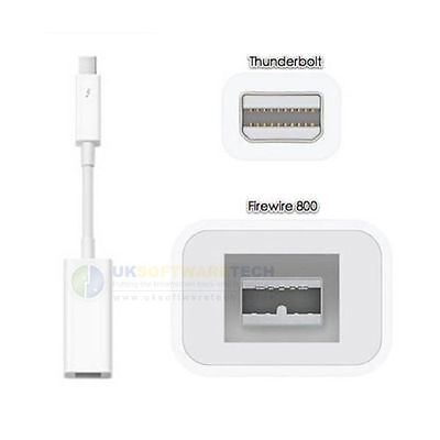 Official Apple Thunderbolt to FireWire Adapter For MacBook (A1463) - 1st Class