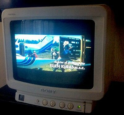 SONY Trinitron Color TV Model No. KV-8AD10 Complete With Remote Control