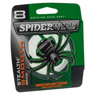 Spiderwire Stealth Smooth Braid Moss Green