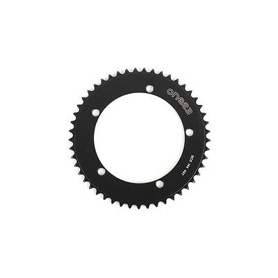 One23 Track Alloy 144mm 1/8 Chainring 47T 48T 49T 50T Black
