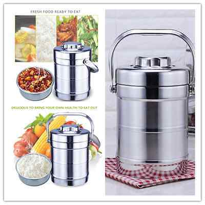 New Vacuum Stainless Steel Flask Thermos Rice Porridge Soup Food Lunch bento box
