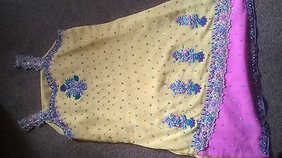 Ladies suit women  Asian Indian suit  with lining ready made party suit