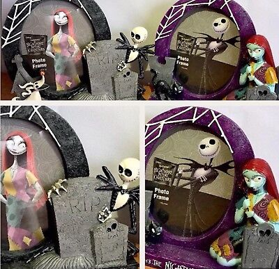 The Nightmare Before Christmas Jack Sally Zero Picture Photo Frame Resin 3D Set